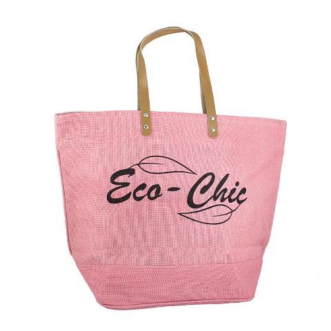 eco chic pink bag
