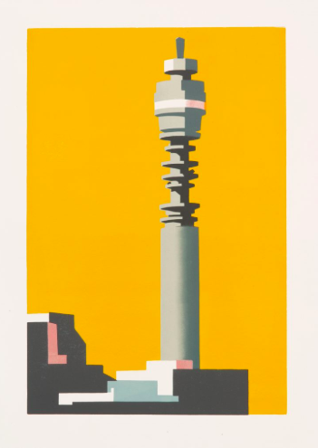 Post office tower by Paul Catherall