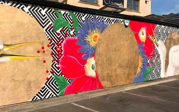 Mural for Blackburn Open Walls