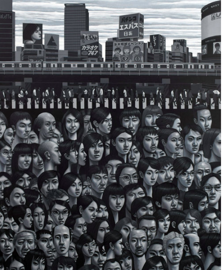 Carl Randall - Tokyo Street Scene The Curators Salon.png