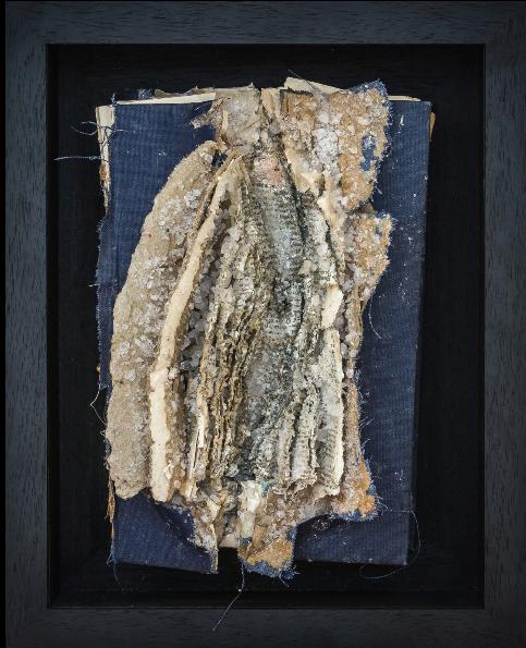 Herstory, exploded book by Lauren Baker