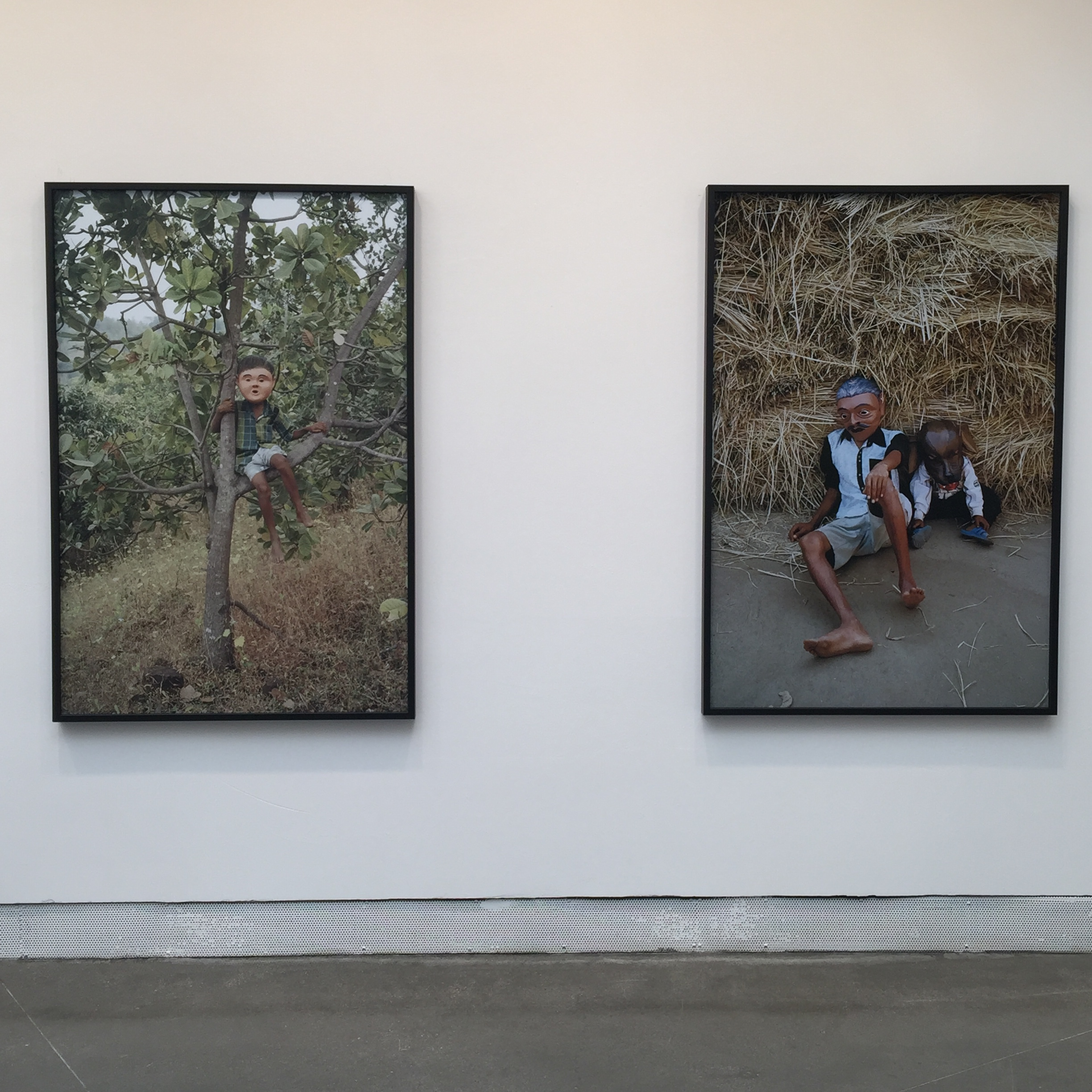 Gauri Gill photographs at the Ralph Rugoff exhibition at the Venice Biennale