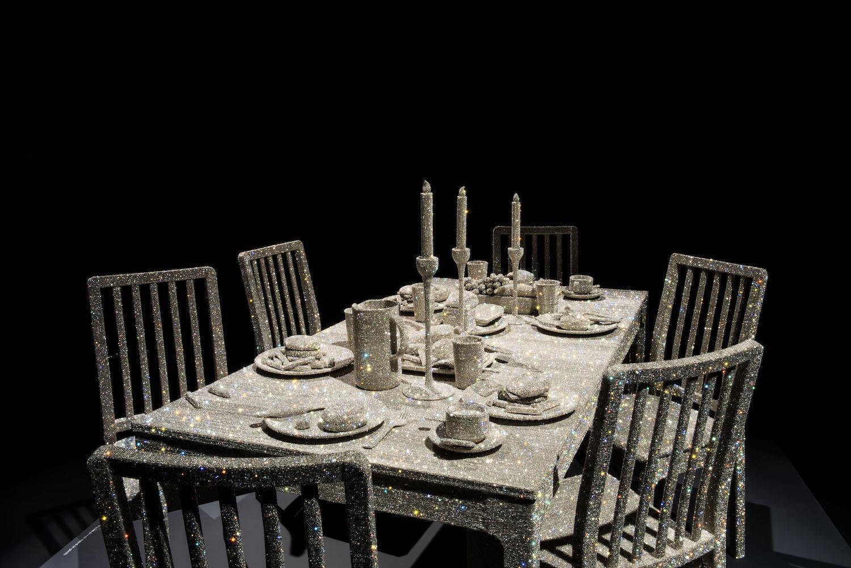 Sara Shakeel Table Supper crystals food.jpg