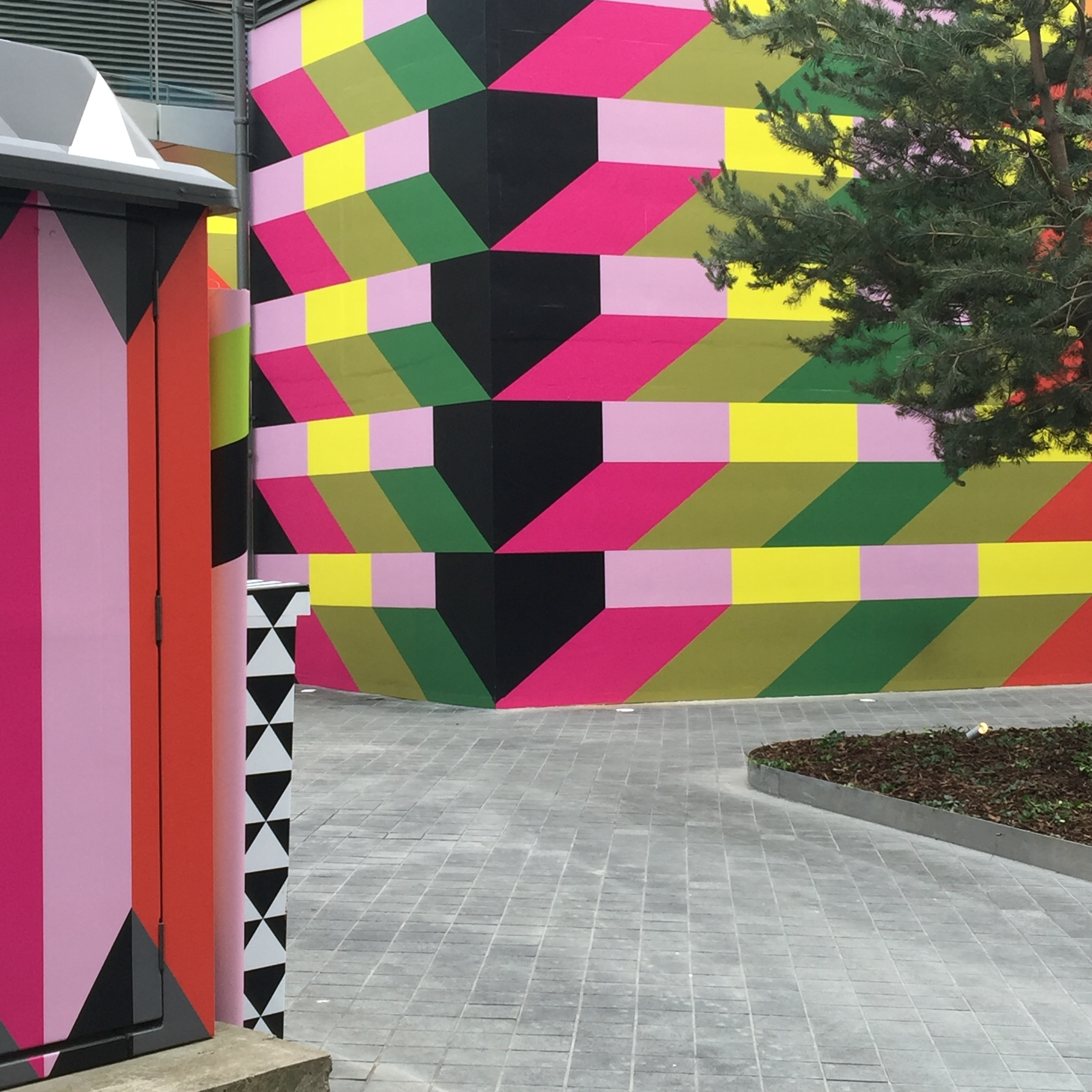 Moira Myerscough installation