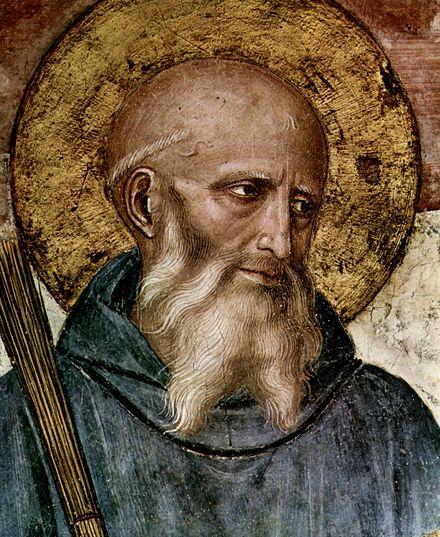 Copy of Benedict of Nursia (480-543)