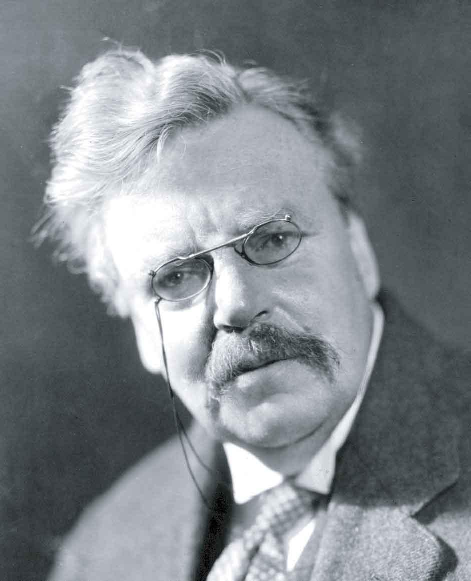 Copy of G.K. Chesterton (1874-1936)