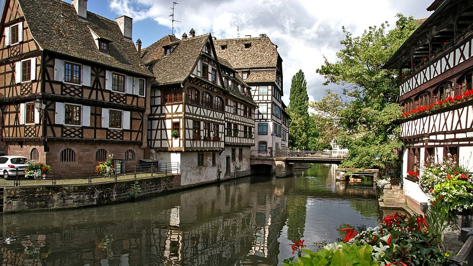 Half-timbered house of Petite France - Strasbourg, France
