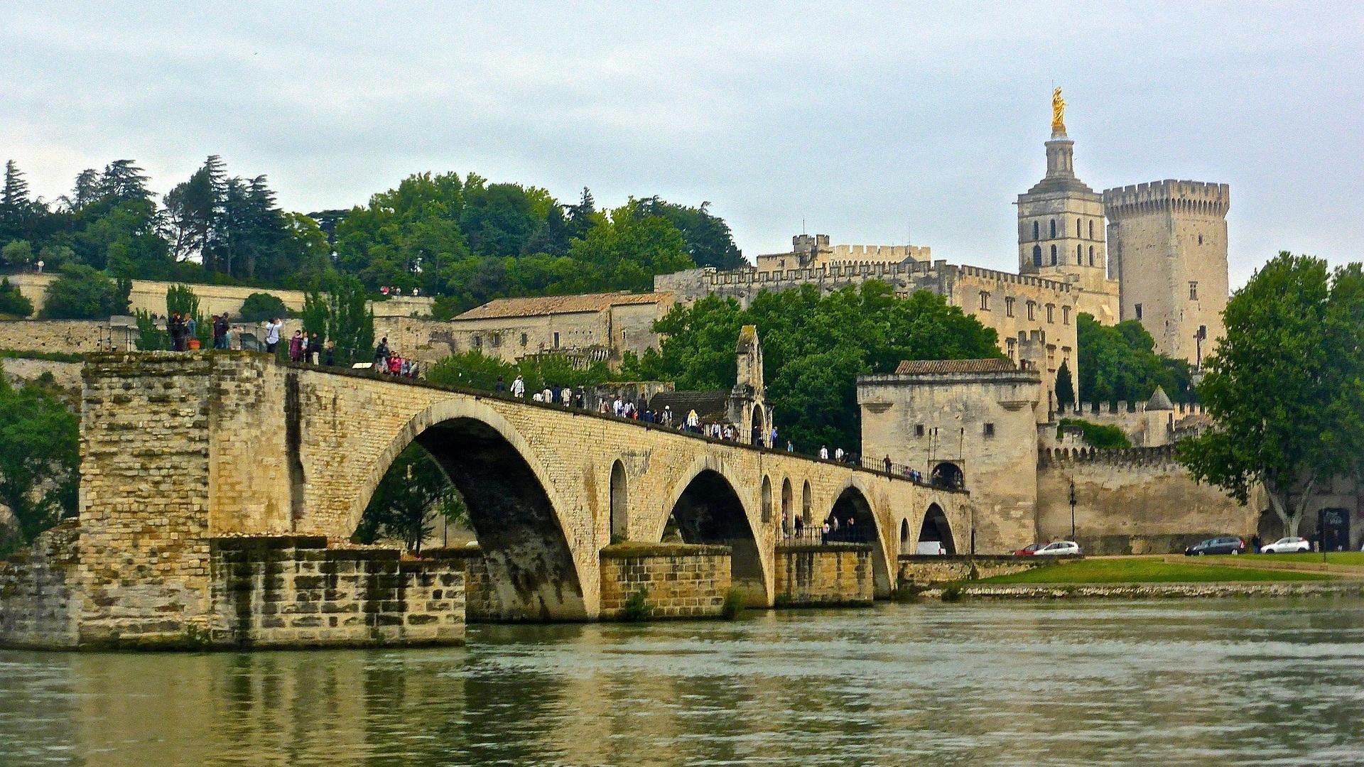 """Palais des Papes (""""Popes Palace"""") - Avignon, France"""