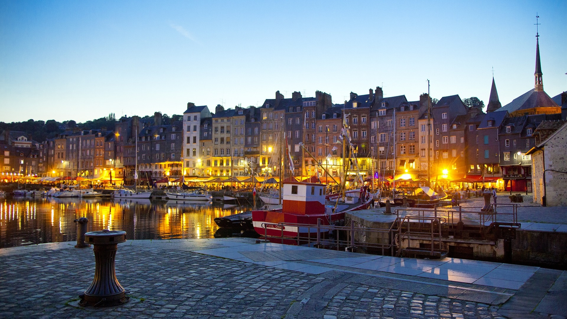 Waterfront - Honfleur, France