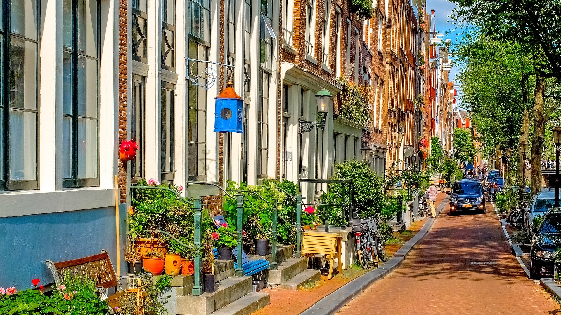 Jordaan District - Amsterdam, Netherlands