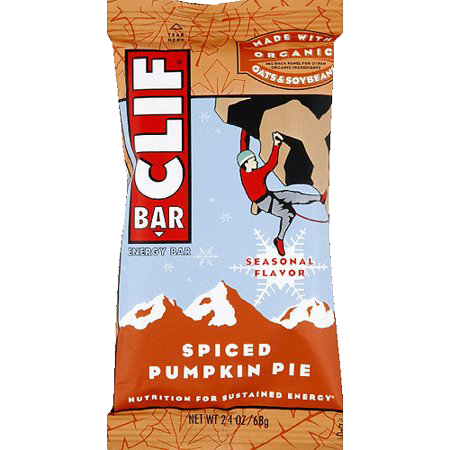 Clif Bar - Spiced Pumpkin Pie