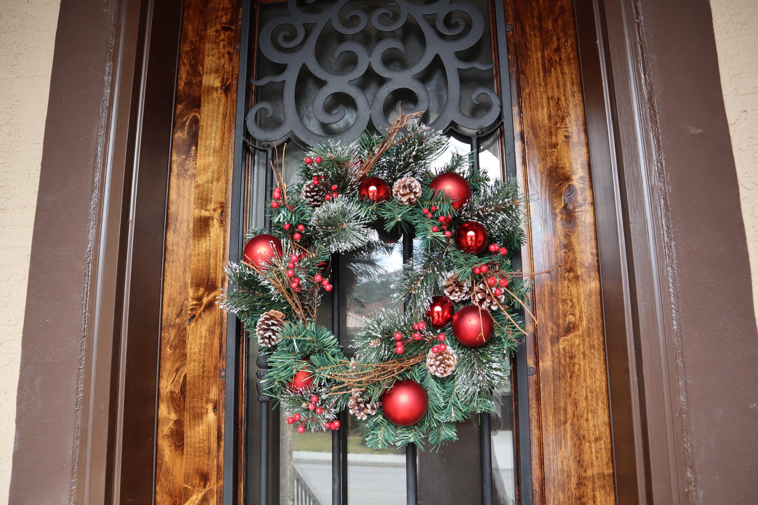 - Christmas Wreath