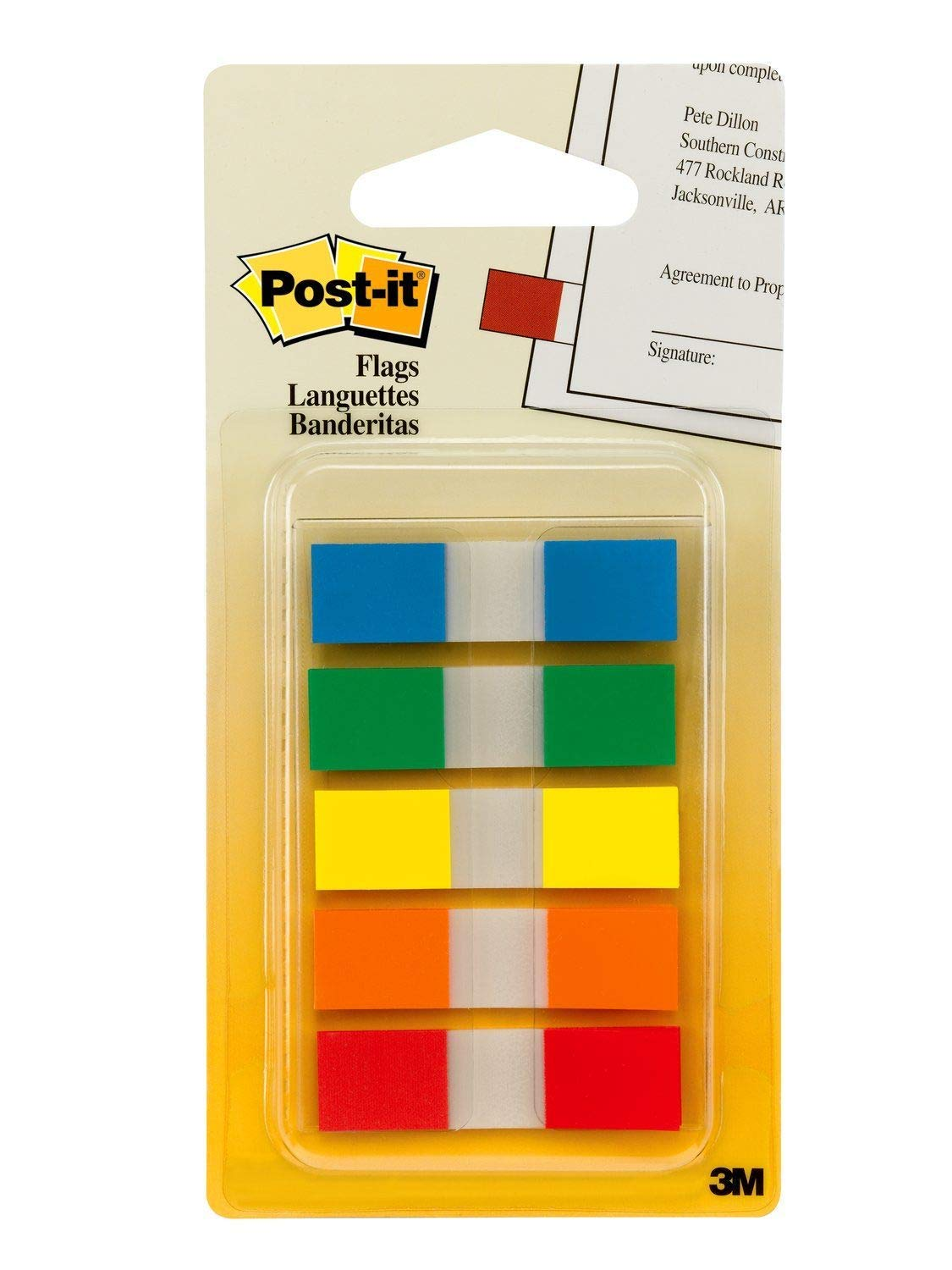 Post-it flags -