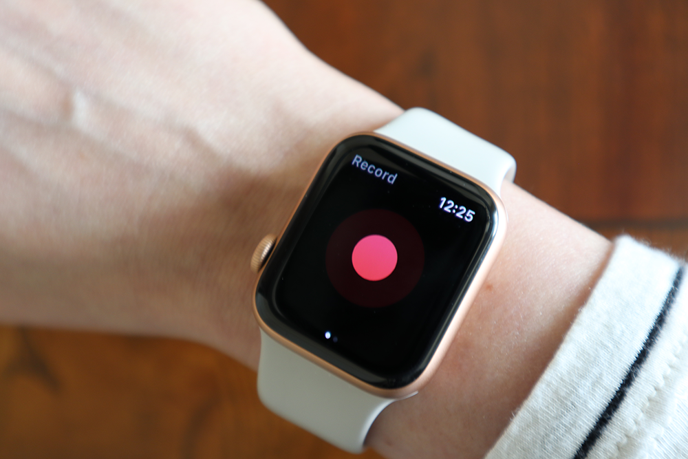 record app for apple watch