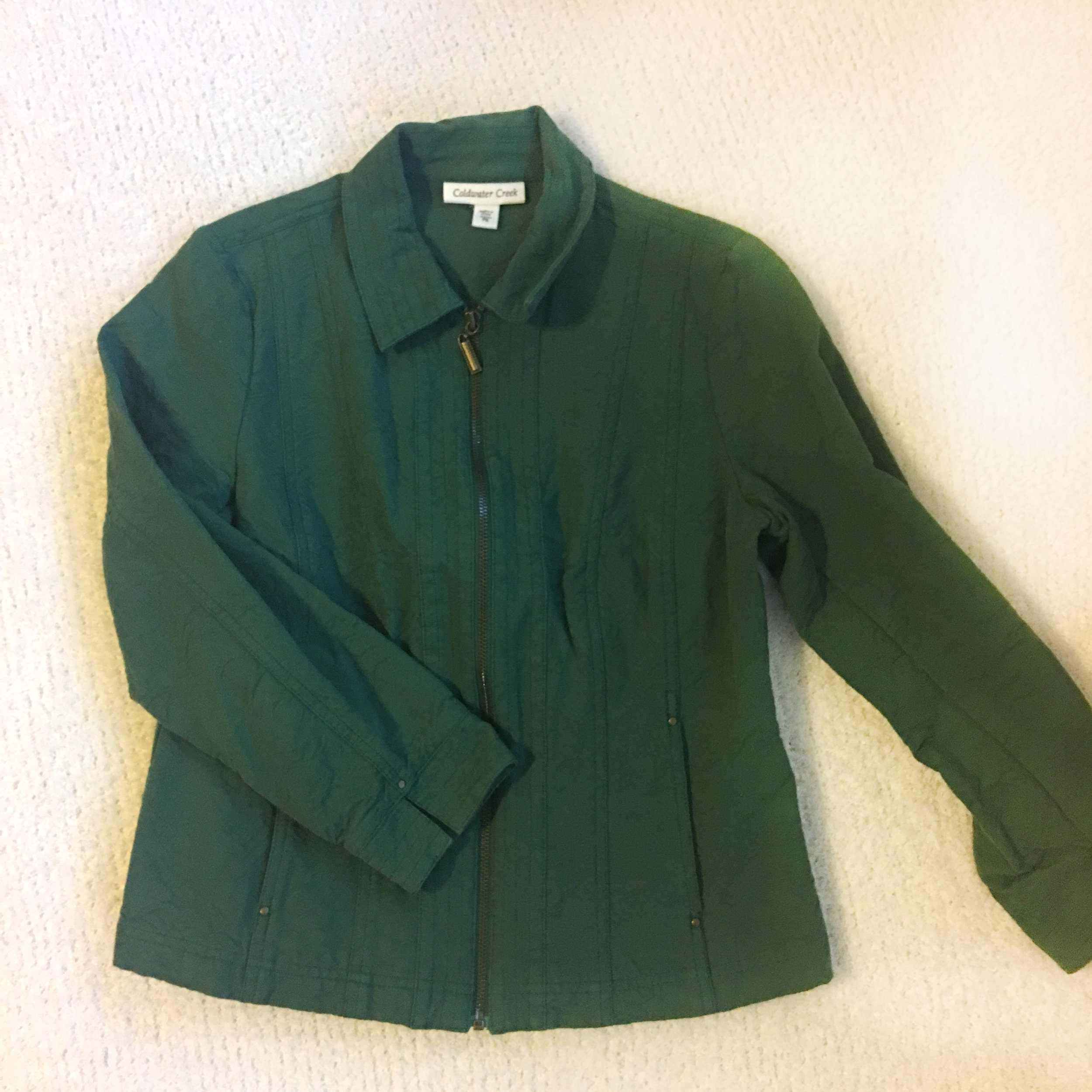 green cold water creek jacket