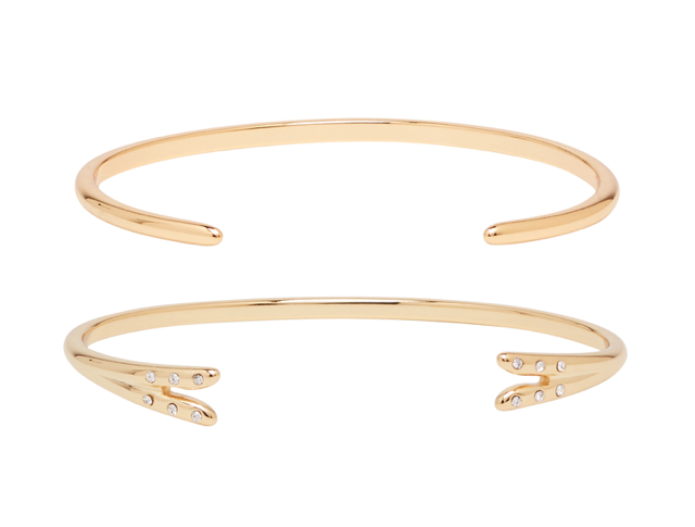 Michelle Campbell - Gold Talon Bracelet Set