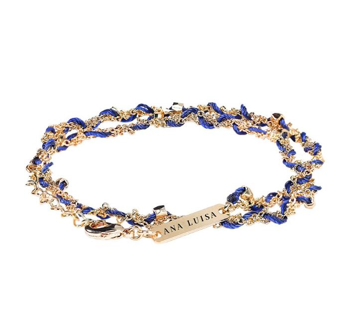 Ana Luisa - Tessa Navy Blue Friendship Bracelet