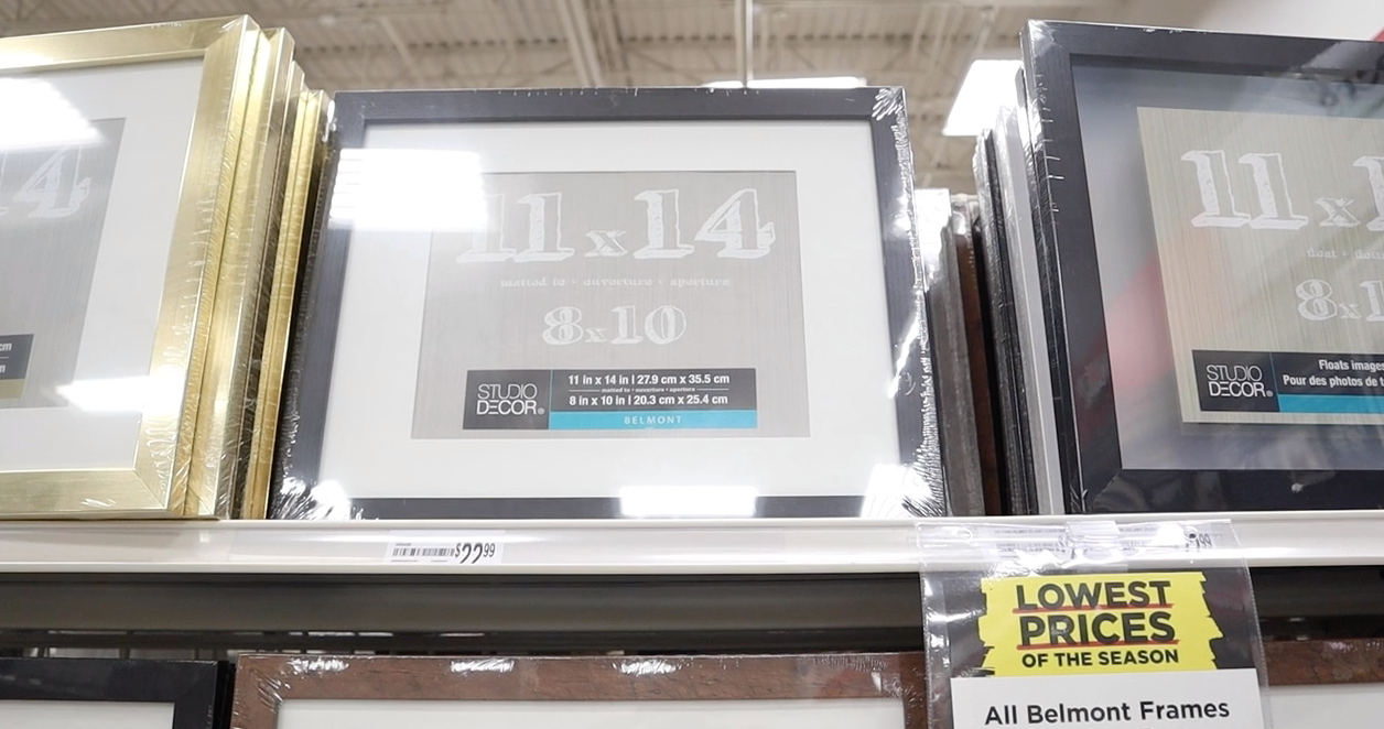 Michaels picture frames