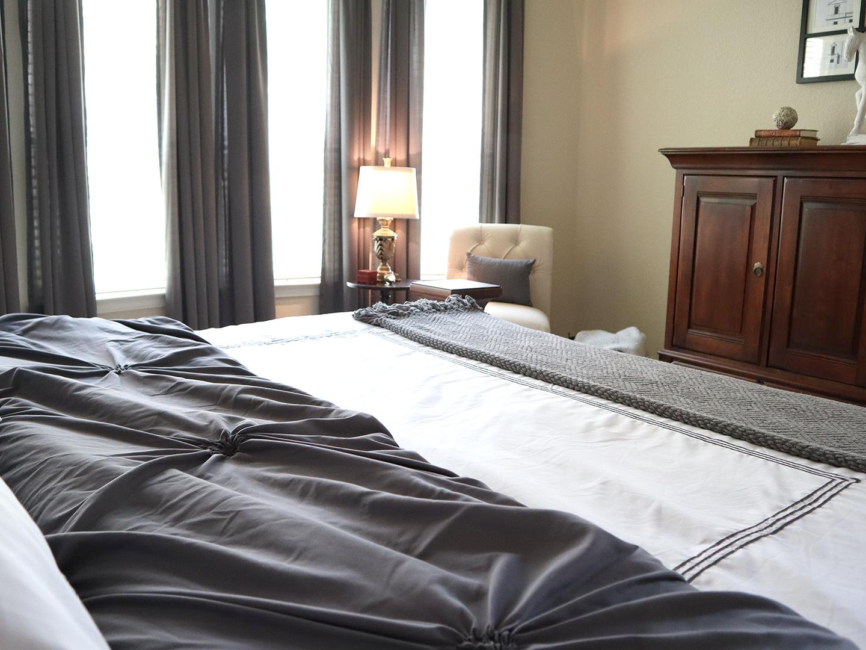 bedding for master bedroom
