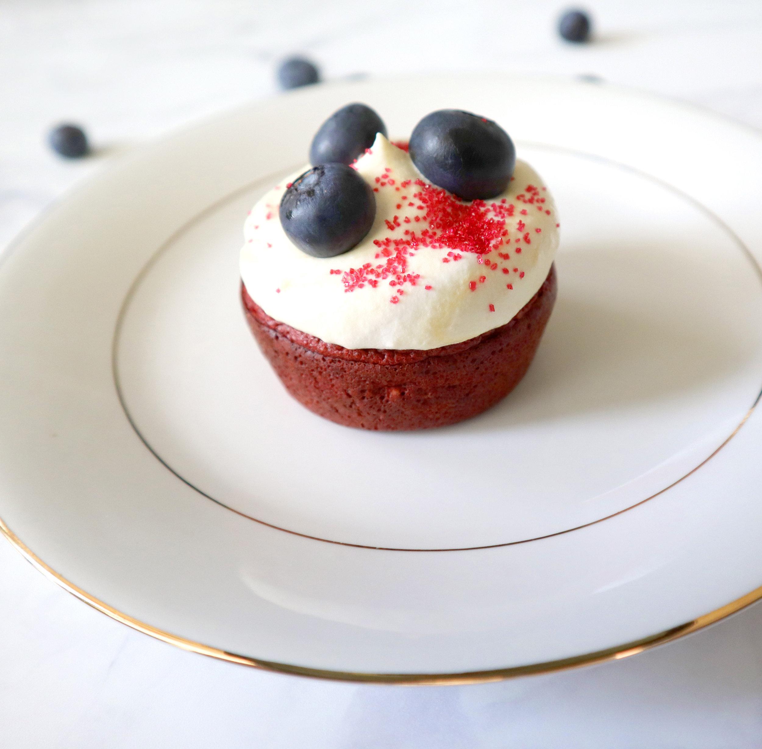healthy red velvet cupcakes