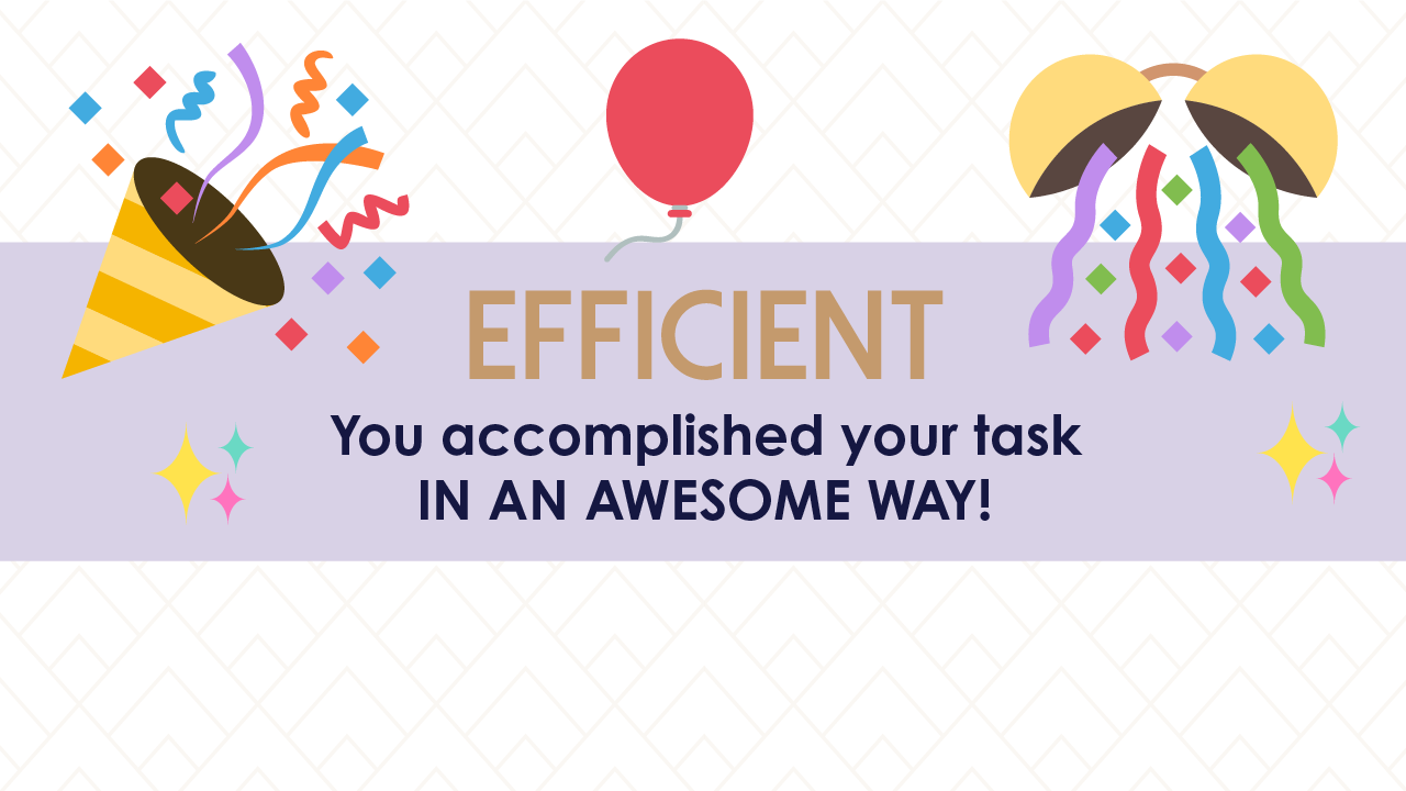 how to be efficient