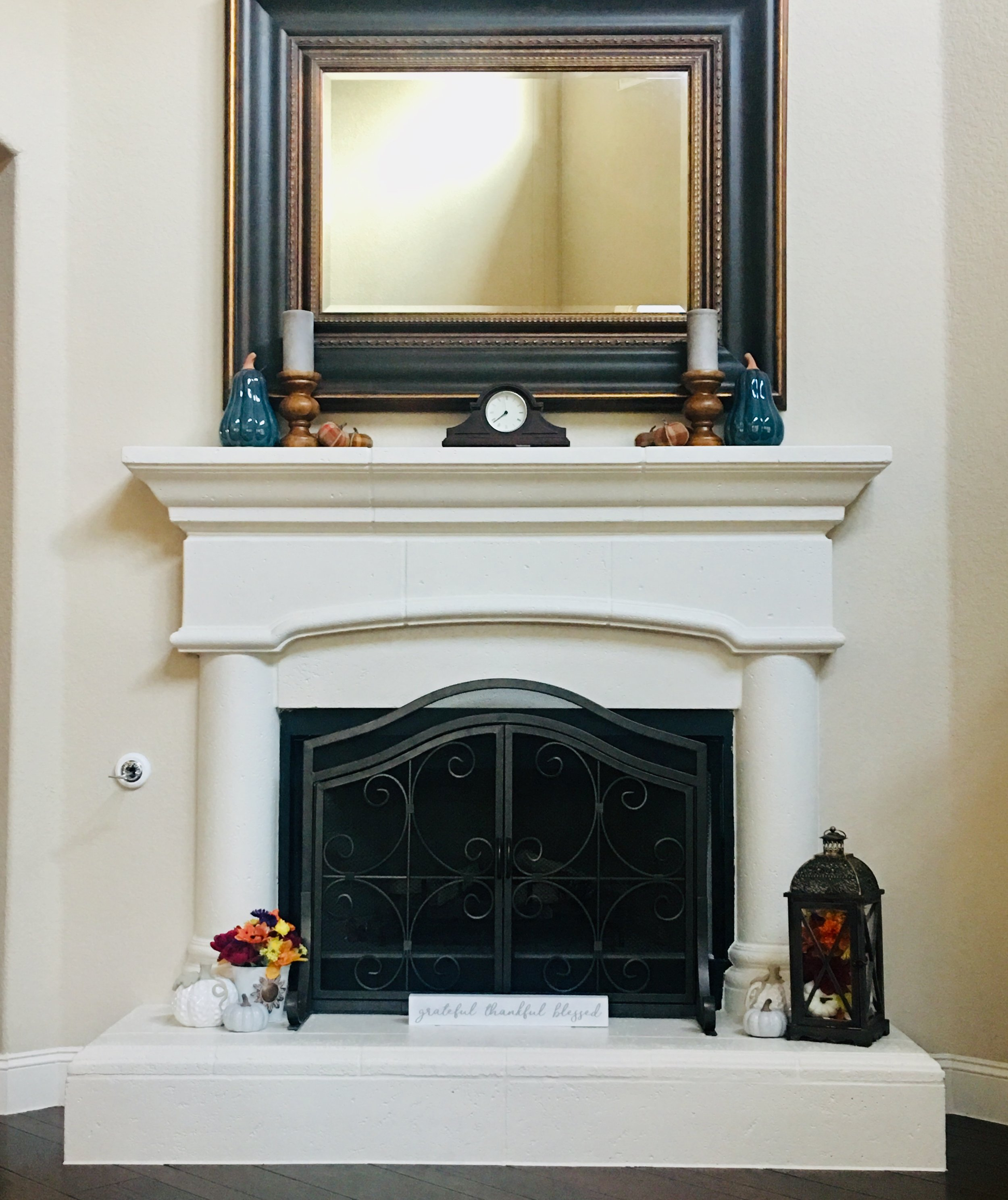 mantle decorations for fall