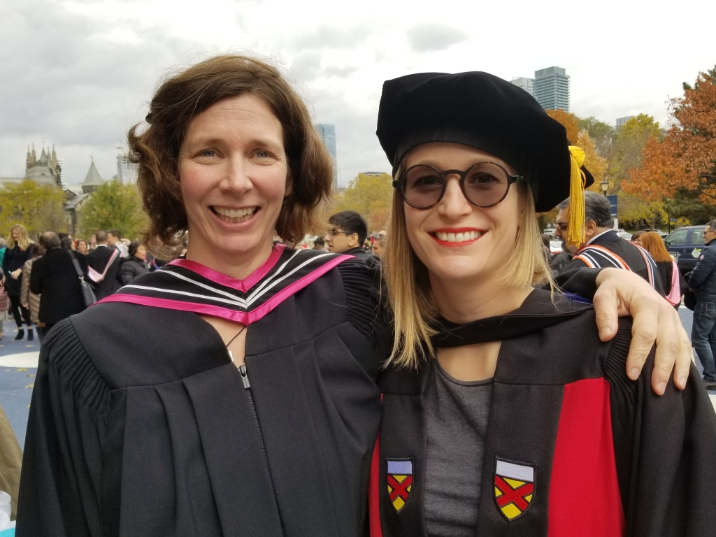 Patti and Elise, Convocation