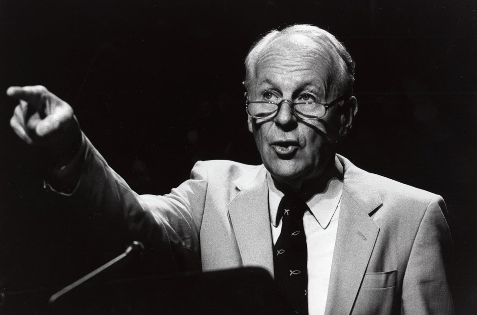 John Stott  co-founder of the  Lausanne Movement