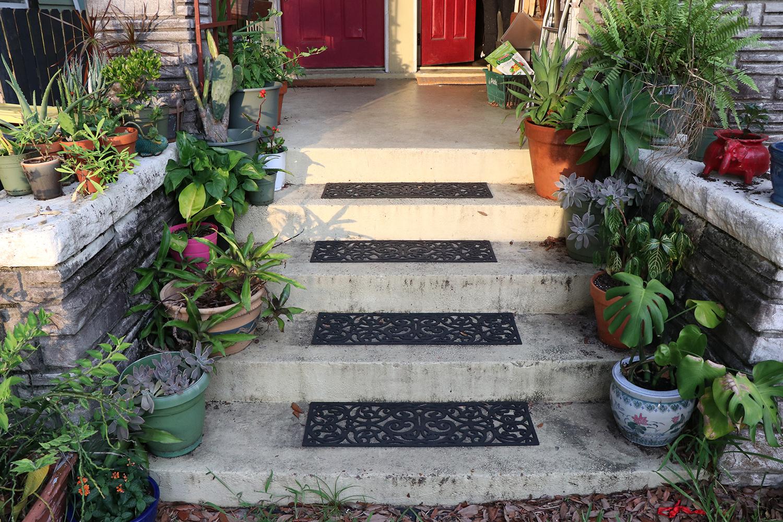 Steps to Sarah's House
