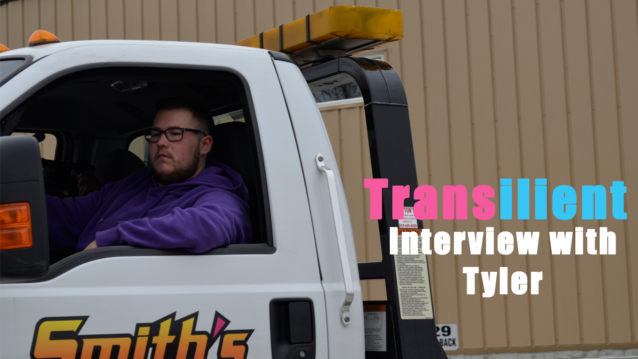Transilient Story Time: Tyler - Check out one of our latest interviews with Tyler. You can read his full interview in the interview gallery.View video interviews, behind the scenes footage, and more here.
