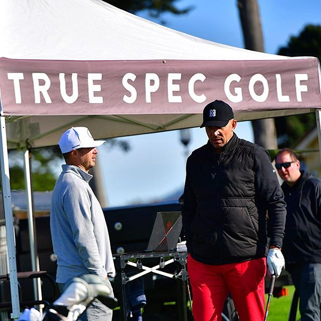Thank you @truespecgolf for coming out to support #birdiesforbreastcancer! The MobileFit  was a crowd favorite!