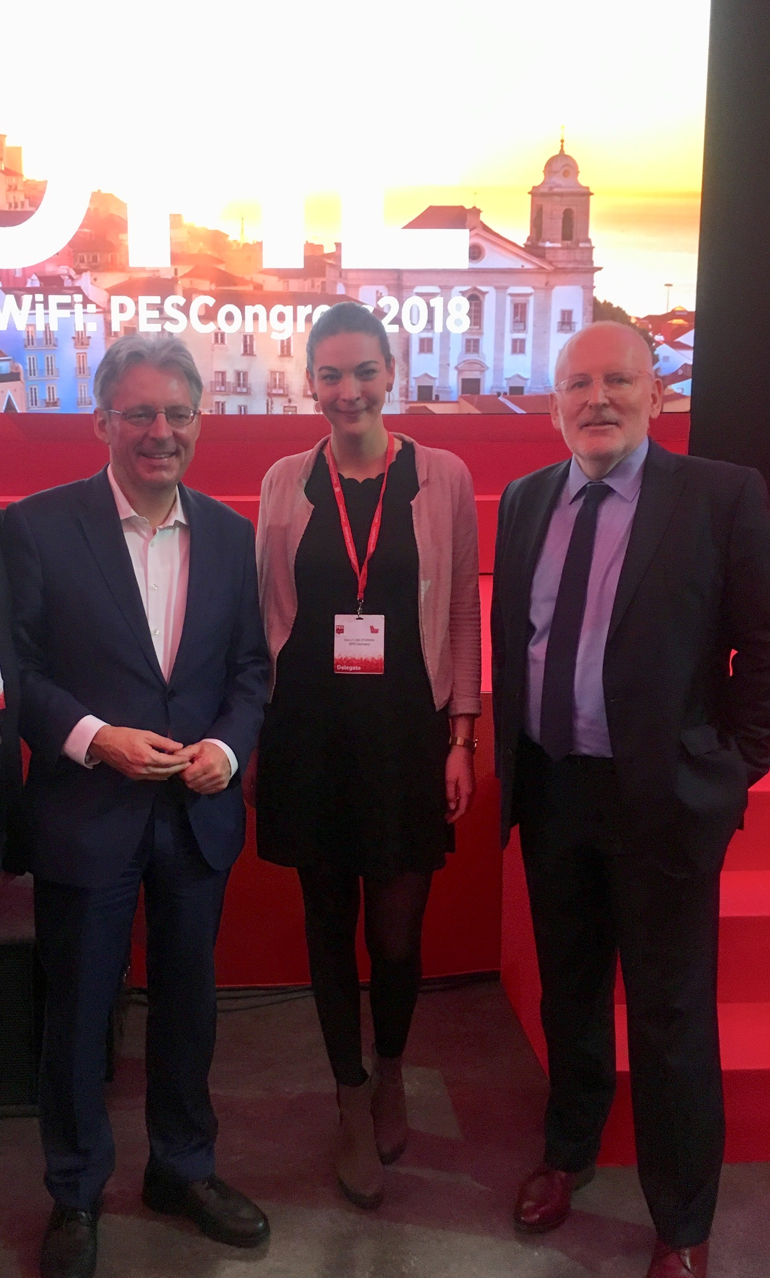 PES Congress in Lissabon 2018