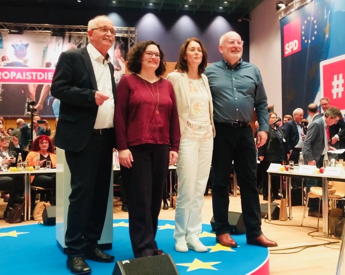 Europaparteitag der SPD 2018