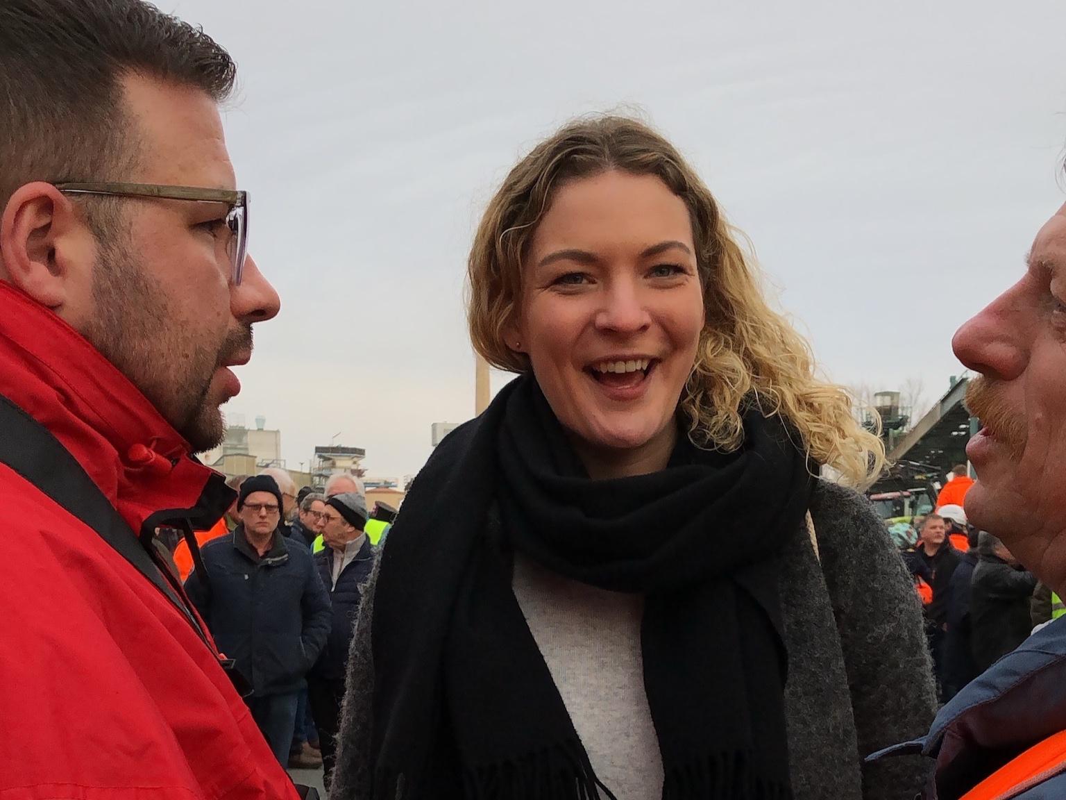 Im Gespräch mit den Gewerkschaften in Warburg