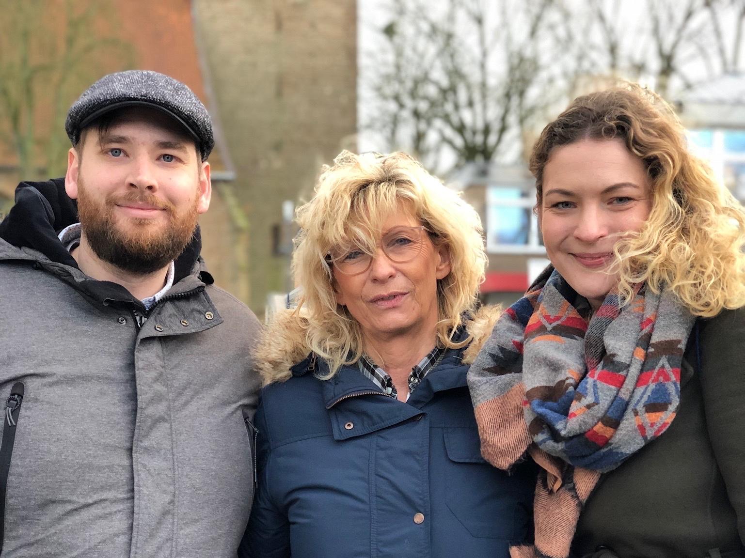 Ja zu Europa in Lübbecke mit Micha Heitkamp und Christina Weng