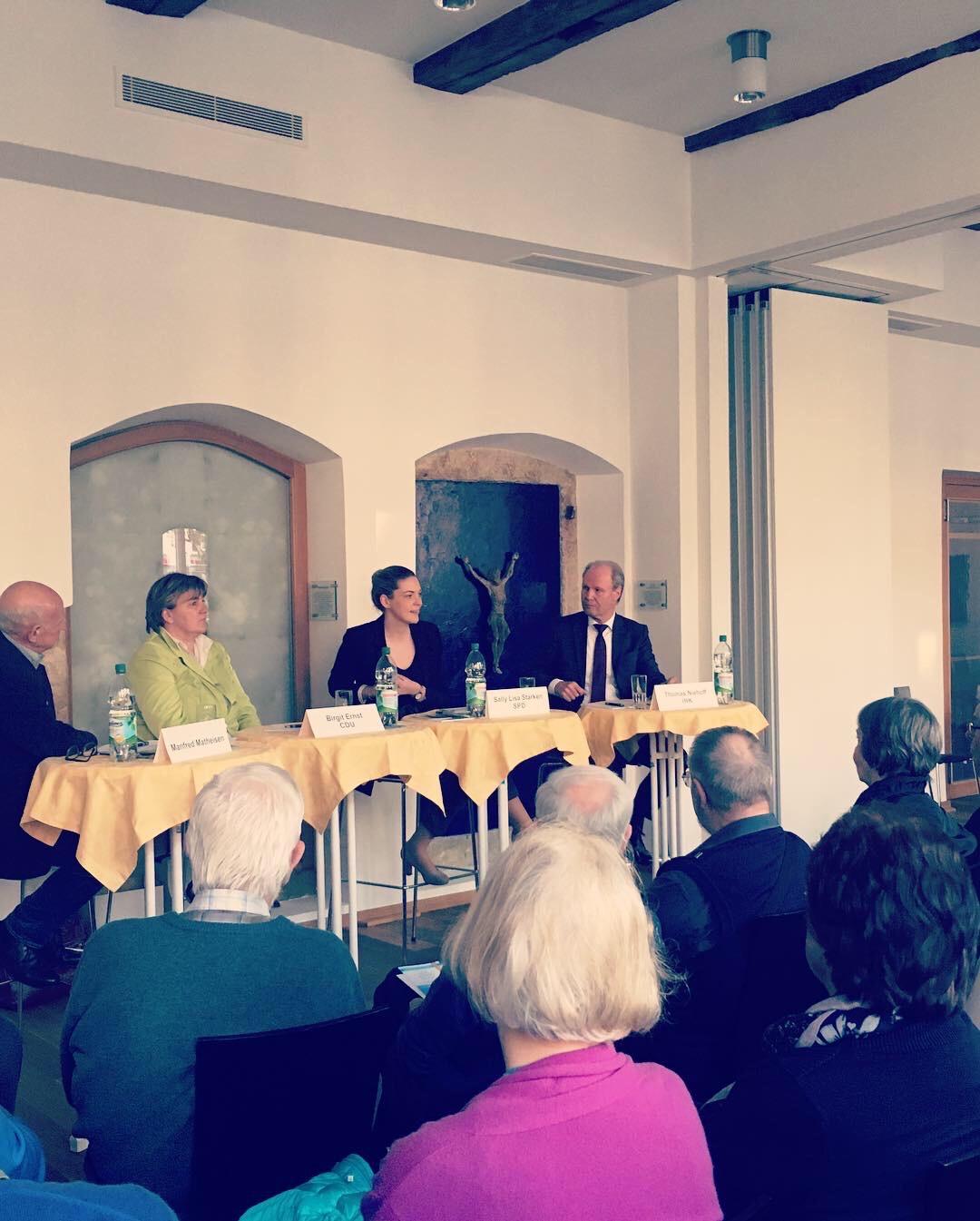 Gesprächsrunde beim KKV in Bielefeld