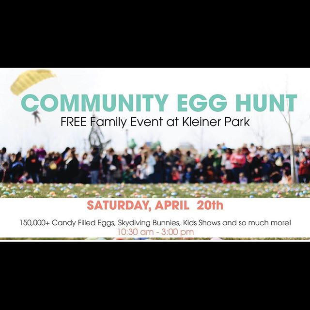 Our food truck will be at Julius M. Kleiner Memorial Park for one if the largest easter egg hunts in the Treasure Valley! Come see us tomorrow and grab some grub while you enjoy the festivities with your littles! P.S. We will also be closed for Easter Sunday April 21st to spend time with our families!