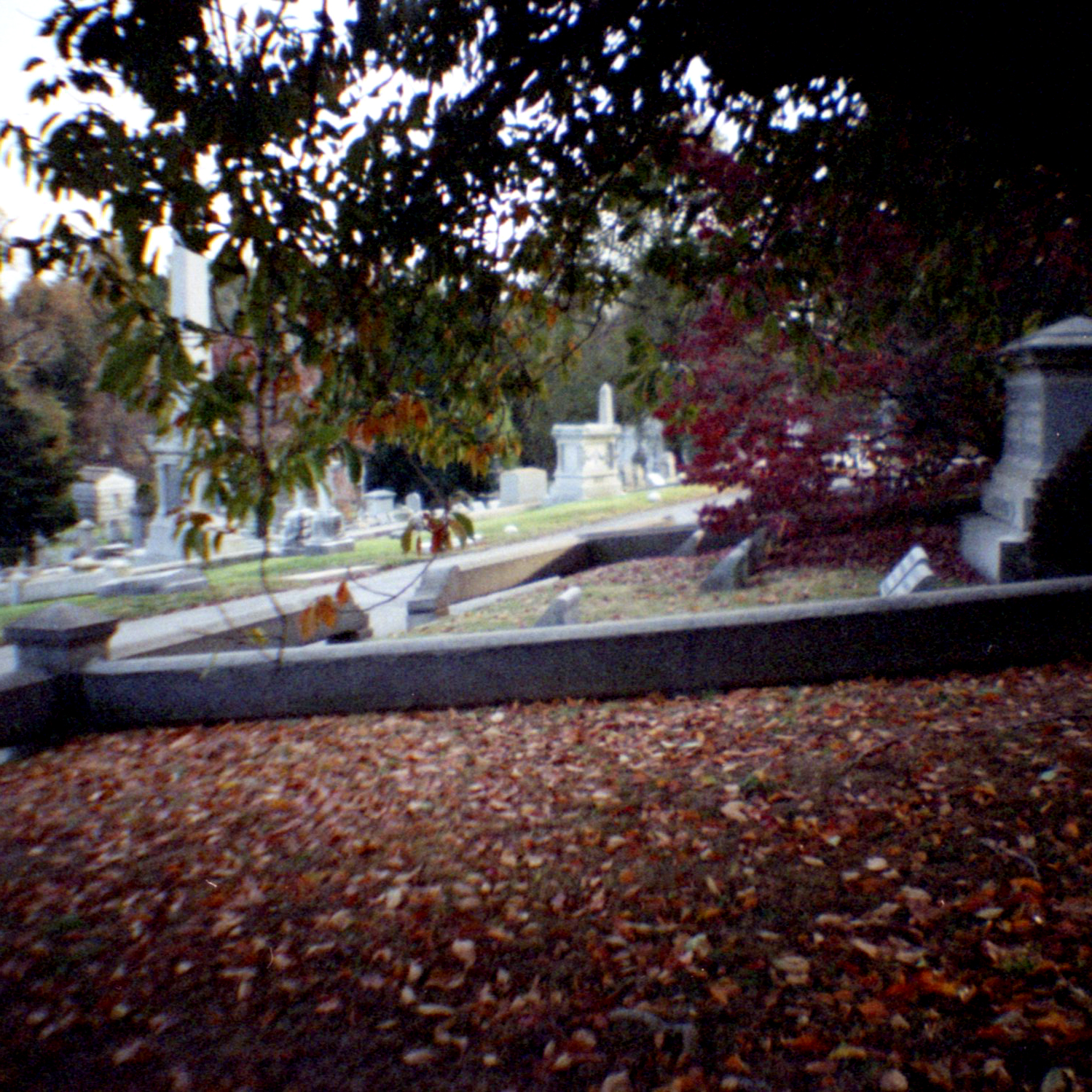 Laurel Hill Cemetery, Philadelphia 2017  35mm Diana Mini from Lomography