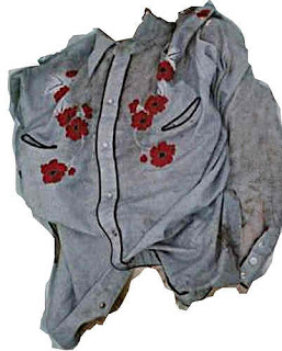 The shirt the Racine County Jane Doe was wearing when her remains were discovered.