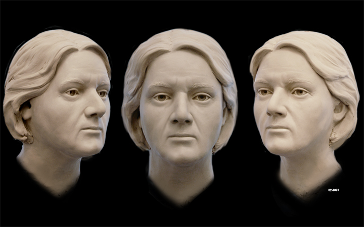 A facial reconstruction of Columbia County Jane Doe