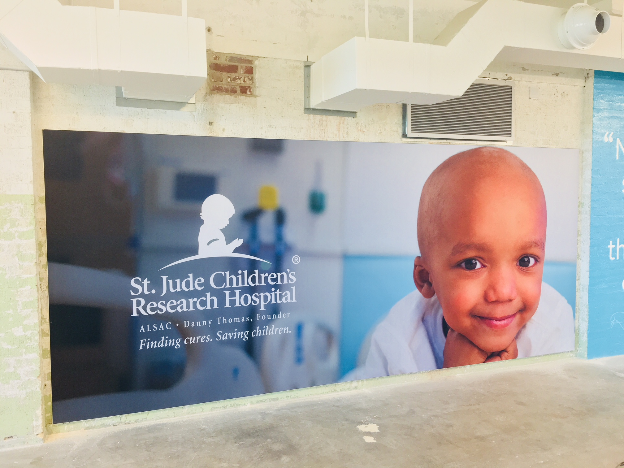 St. Jude Children's Research Hospital FlexFit Fabric