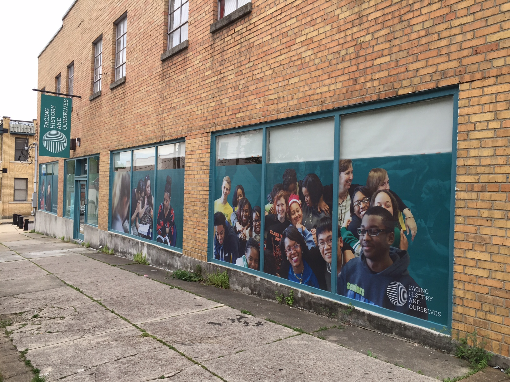 Facing History & Ourselves Window Graphics