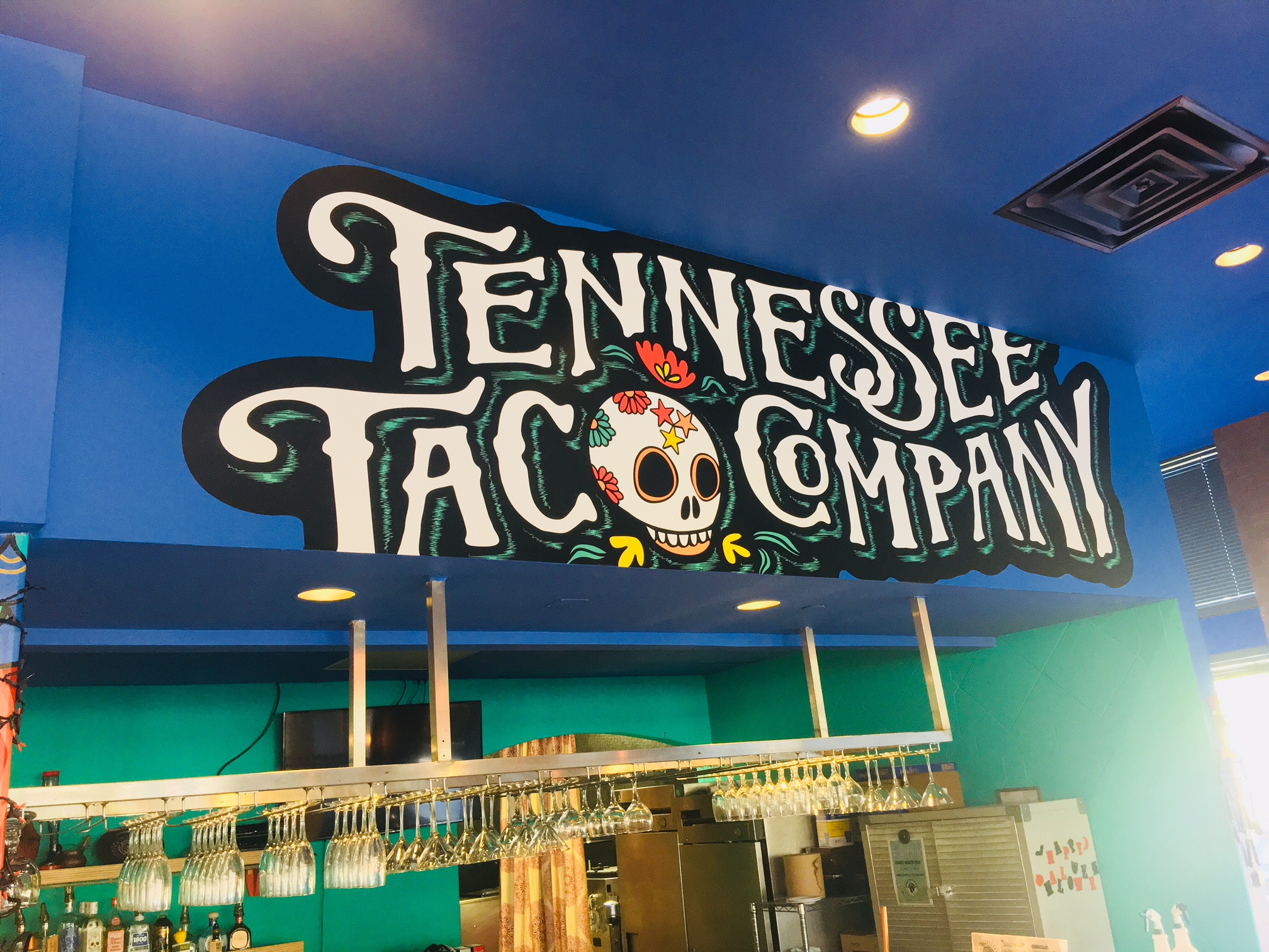 Tennessee Taco Company Wall Mural