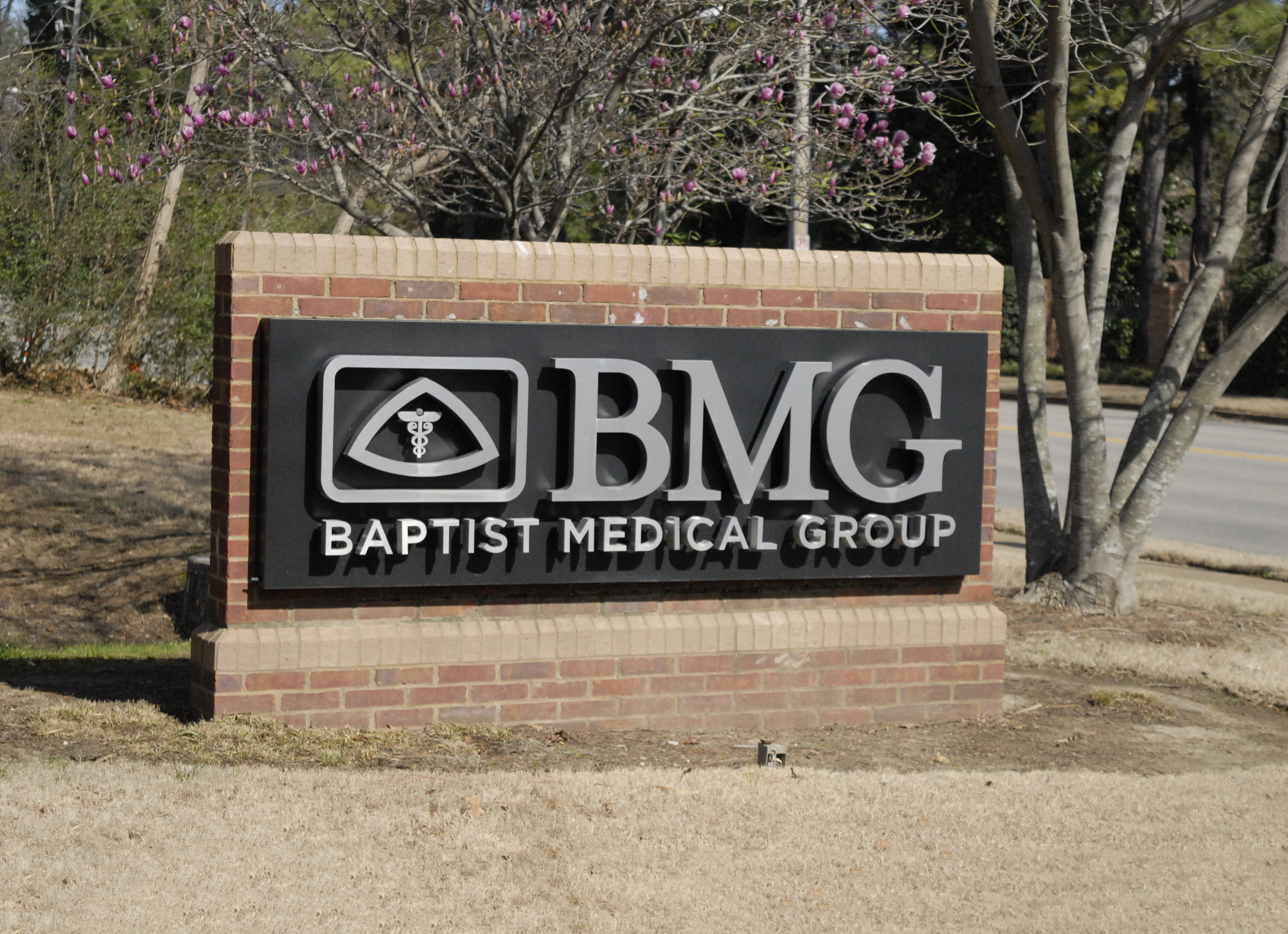 Baptist Medical Group Monument Sign