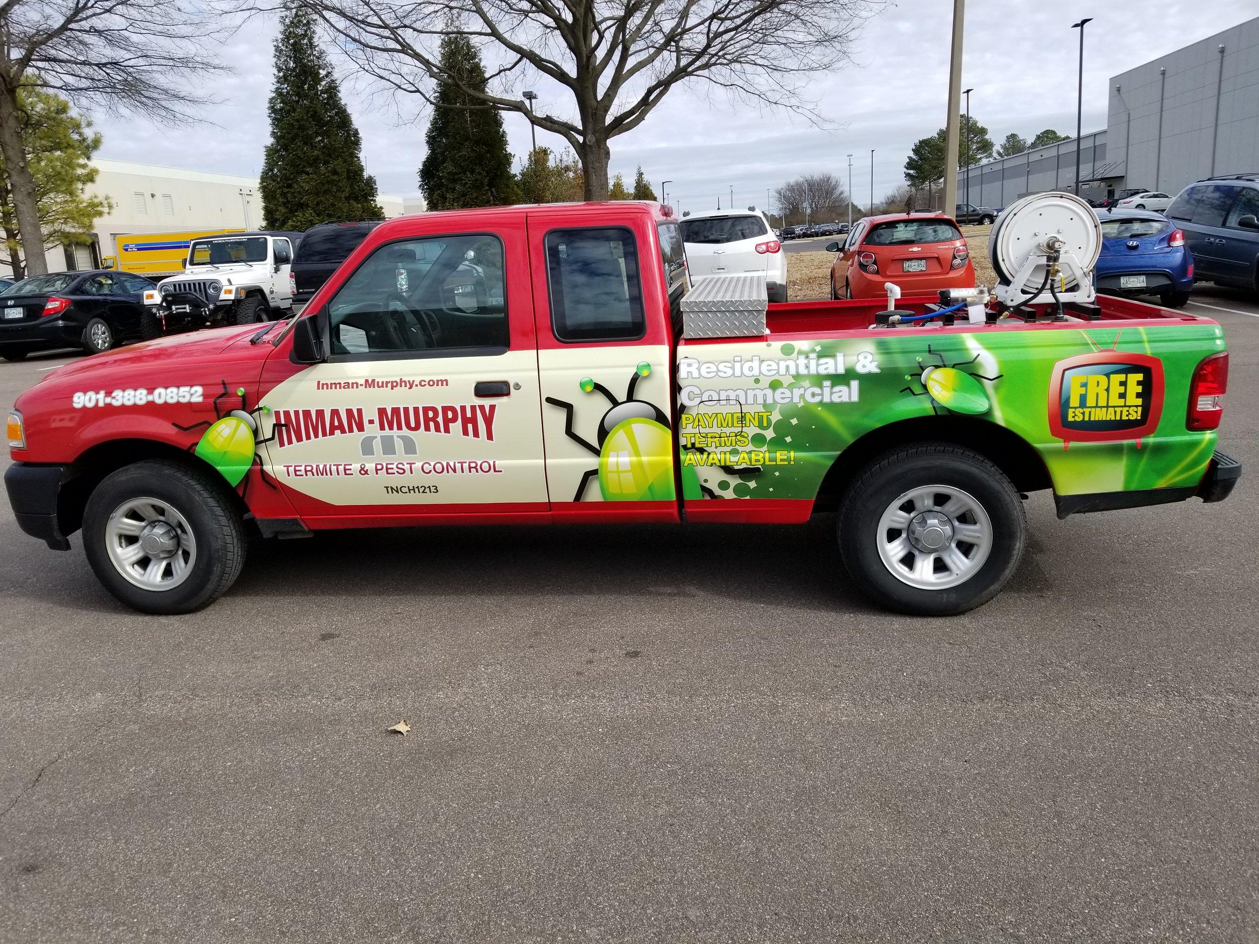 Inman Murphy Truck Wrap
