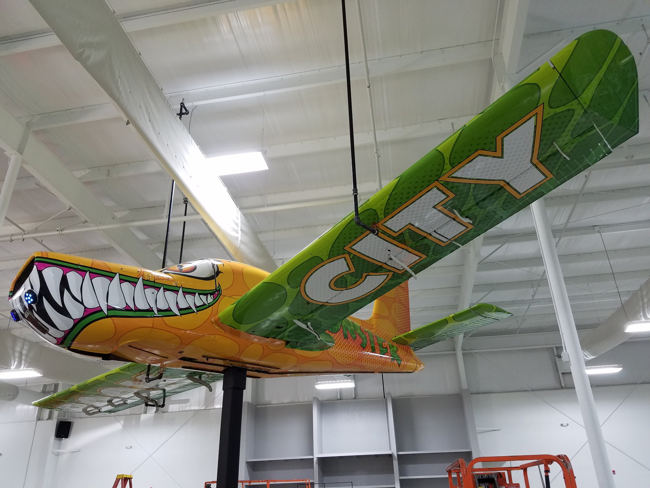 AirplaneWrap_VinylWrap_InternationalEventAndTents_LSIGraphics_MemphisTN ..