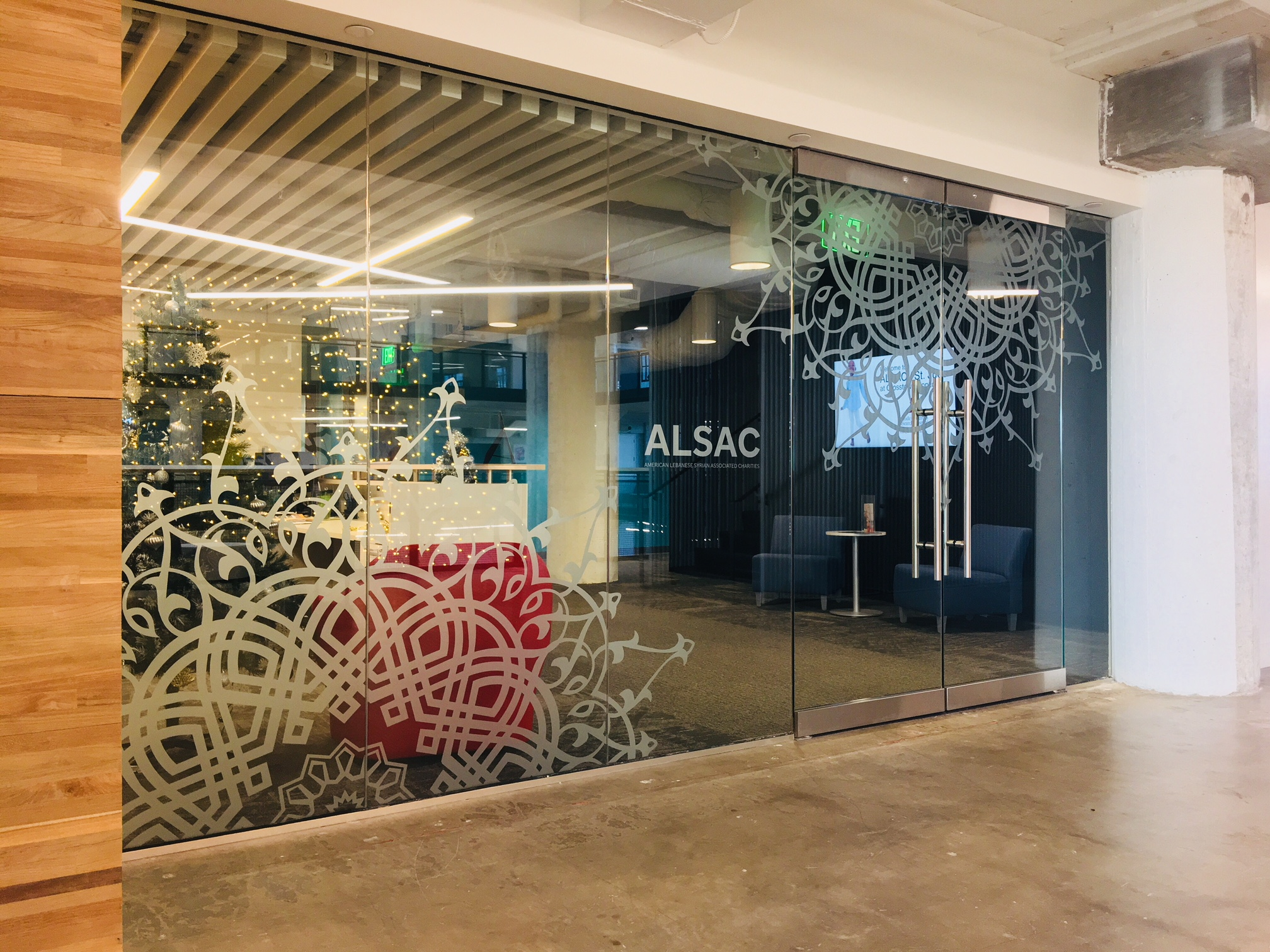 ALSAC Etched Glass