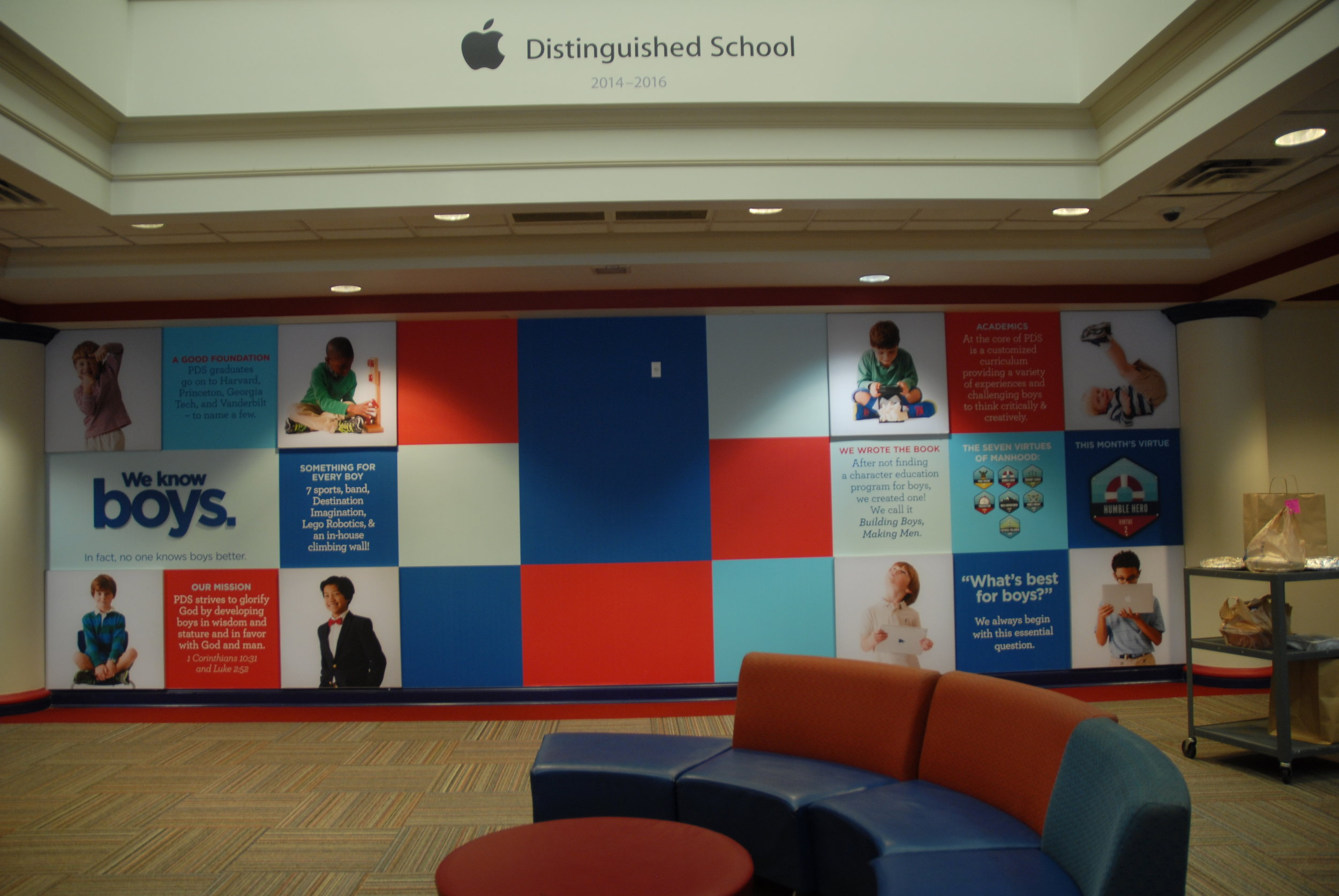 Presbyterian-Day-School_Dimensional-Letters-and-Logos_Interior-Signage_LSIGraphics_Memphis-TN_5 ..