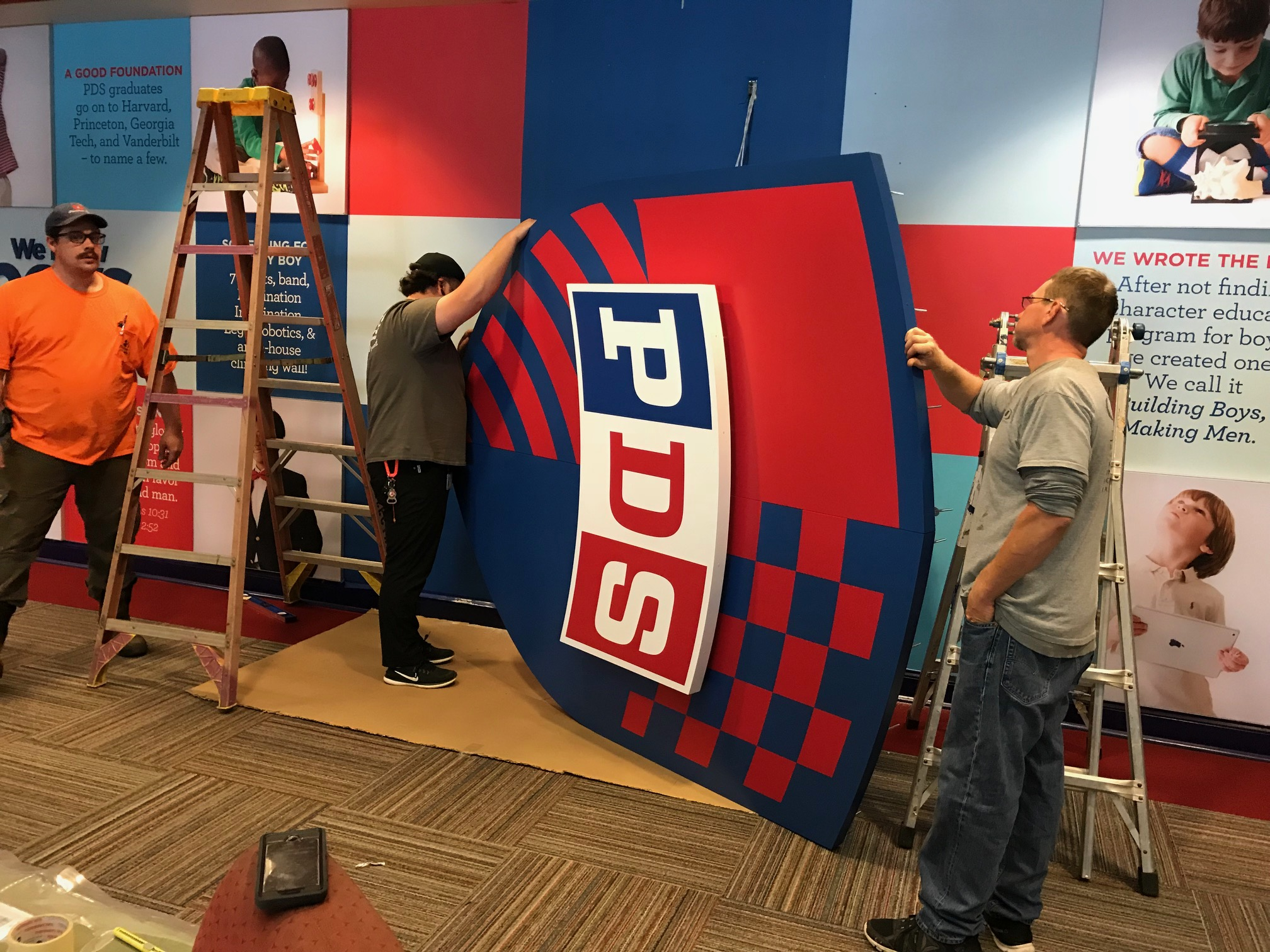Presbyterian-Day-School_Dimensional-Letters-and-Logos_Interior-Signage_LSIGraphics_Memphis-TN_8 ..