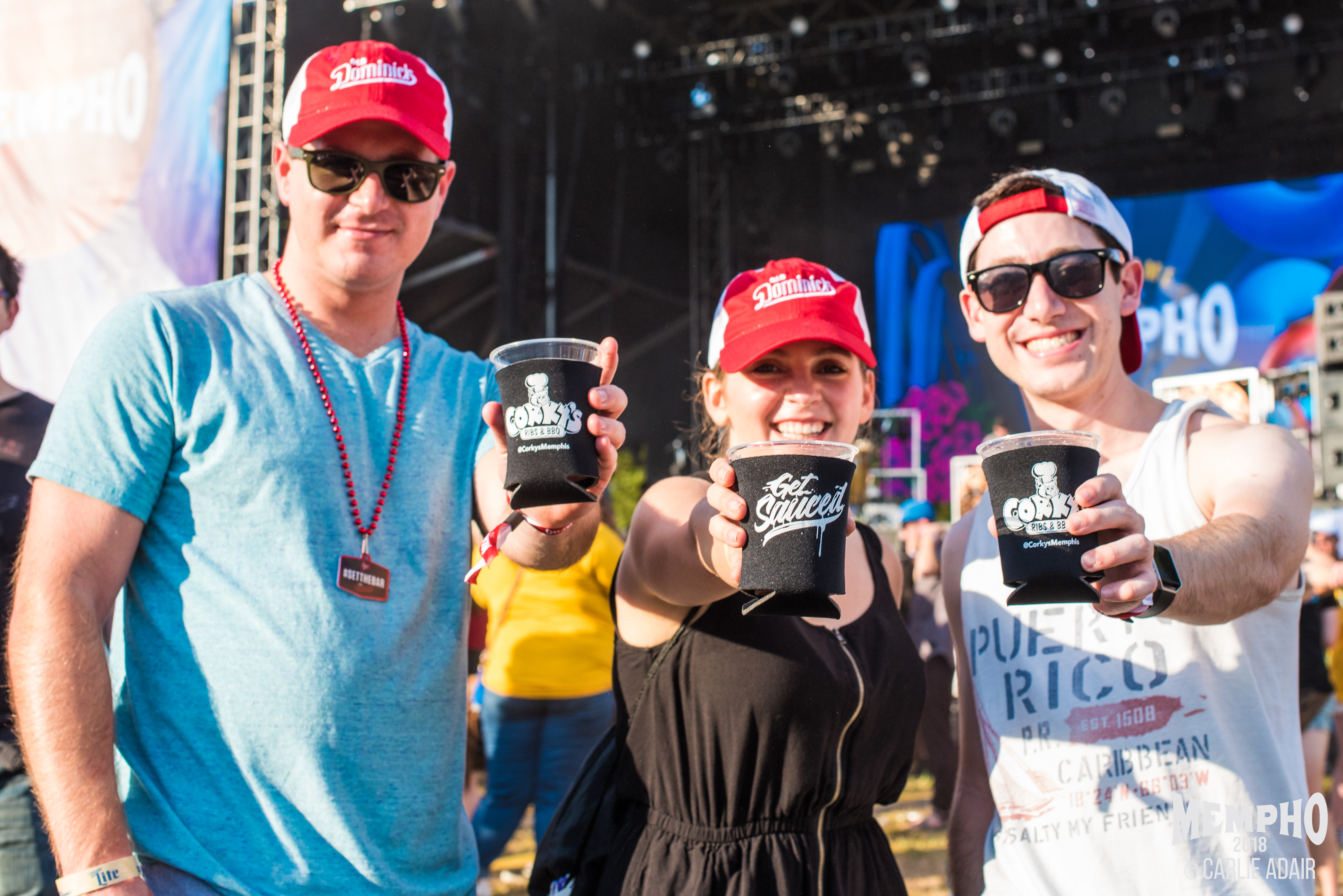 Mempho-Music-Festival_Promotional-Products_Koozies_Embroidered-Hats_LSIGraphics_Memphis-TN ..